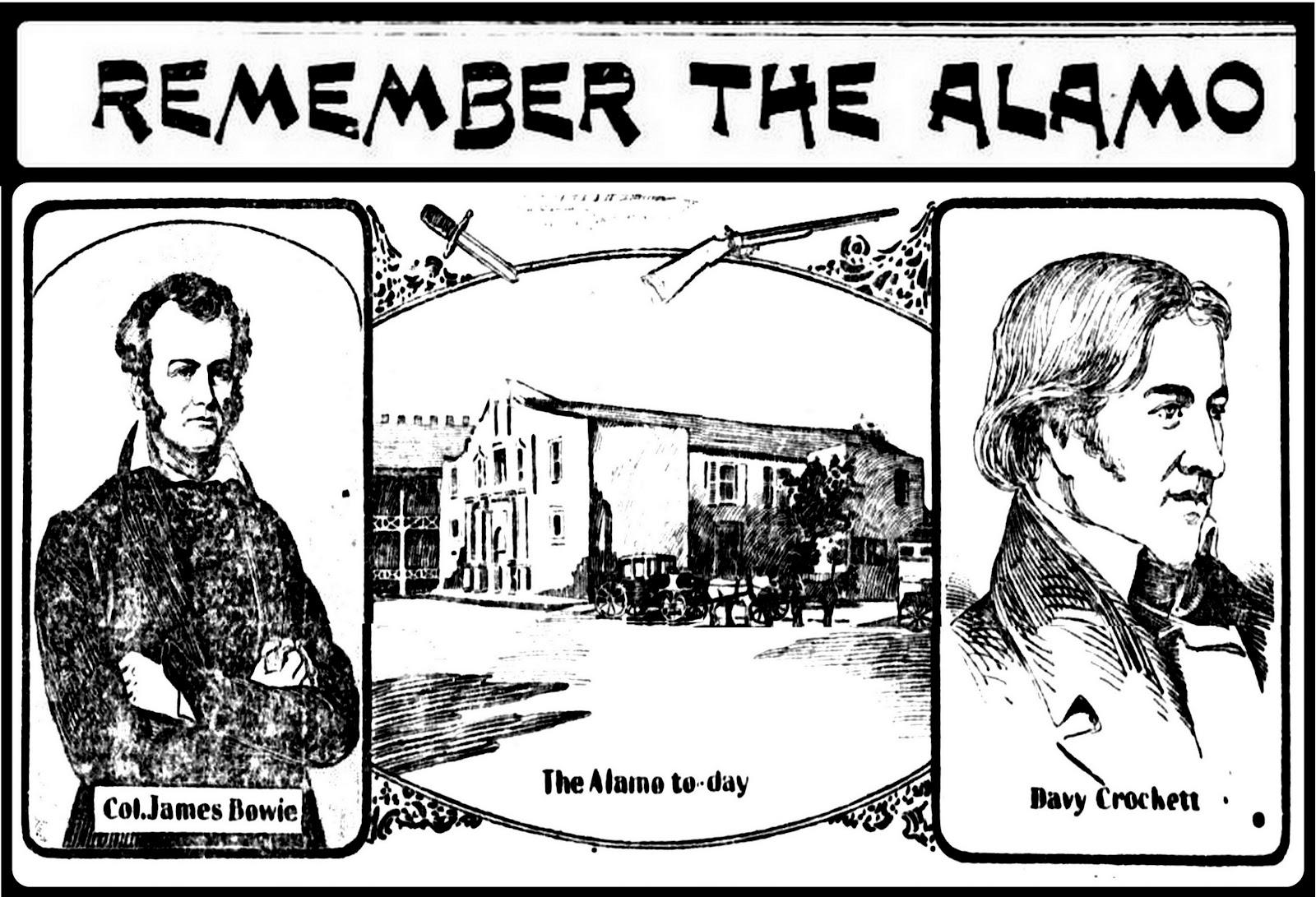 MiscellaneousMar: Remember the Alamo