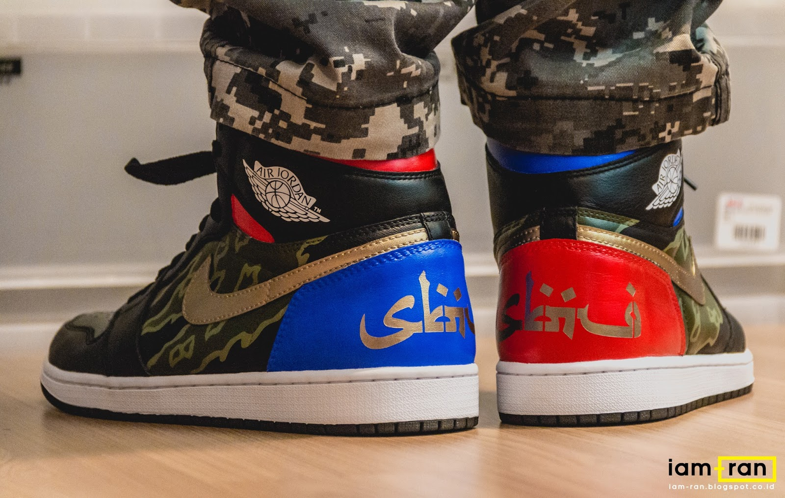 5526df19faa IAM-RAN: ON FEET : Dipsky - Nike Air Jordan 1 x SBTG
