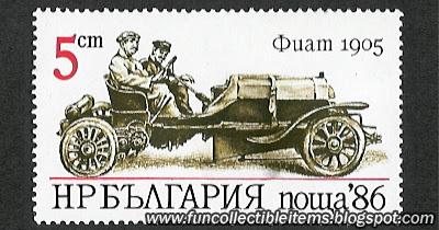 Fiat 1905 Stamp