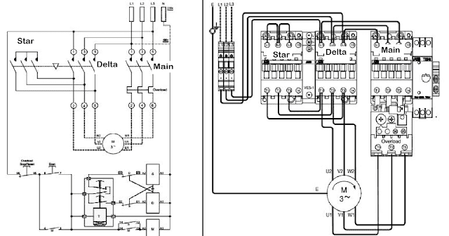 Wiring Diagram Control Star Delta