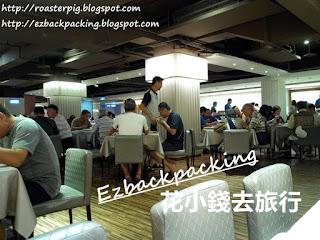 高雄統茂松柏大飯店早餐用餐環境