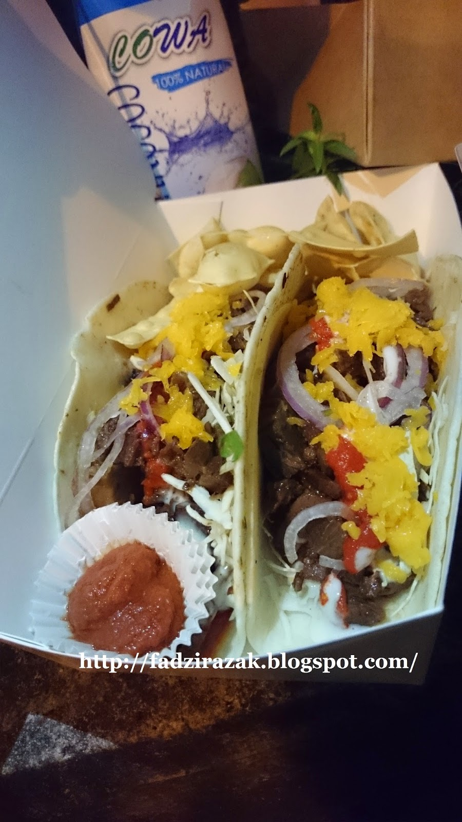 Beef Tacos Curbside Cantina