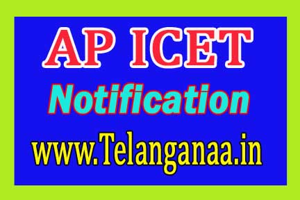 Aandhra Pradesh AP ICET 2017 Notification