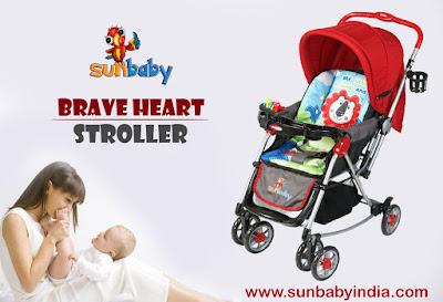 Sunbaby Brave Heart Lion Stroller