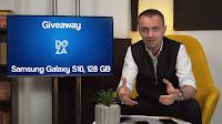 Castiga un Samsung Galaxy S10 - concurs - giveaway - hash - telefon - youtube - castiga.net