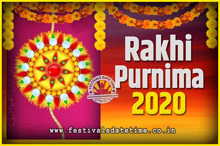 Date And Time Calendar 2020 2020 Rakhi Purnima Date and Time, 2020 Rakhi Purnima Calendar