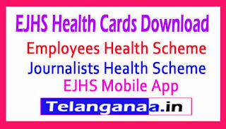 EJHS Health Cards Download Journalists Employees Health Scheme