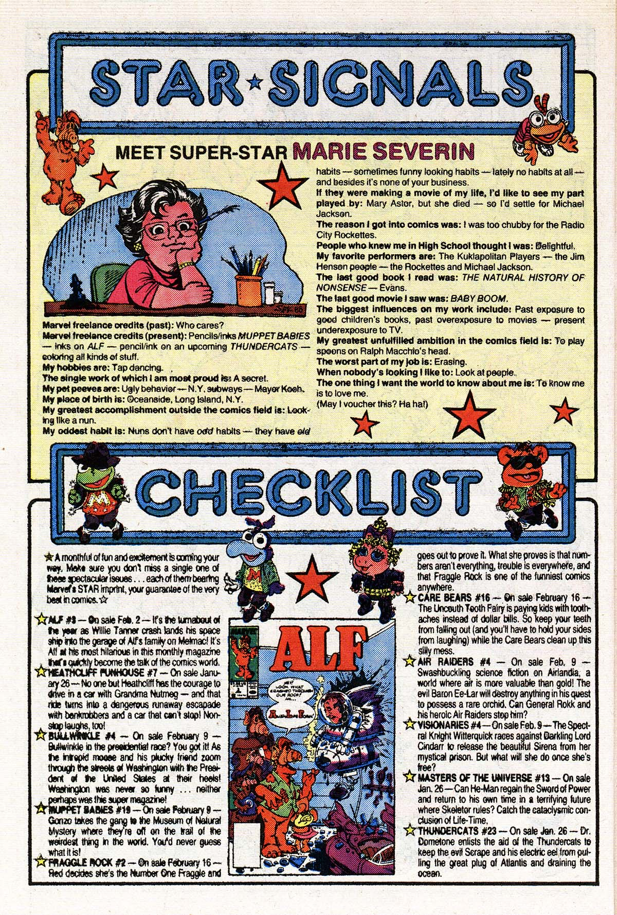 Read online ALF comic -  Issue #3 - 20