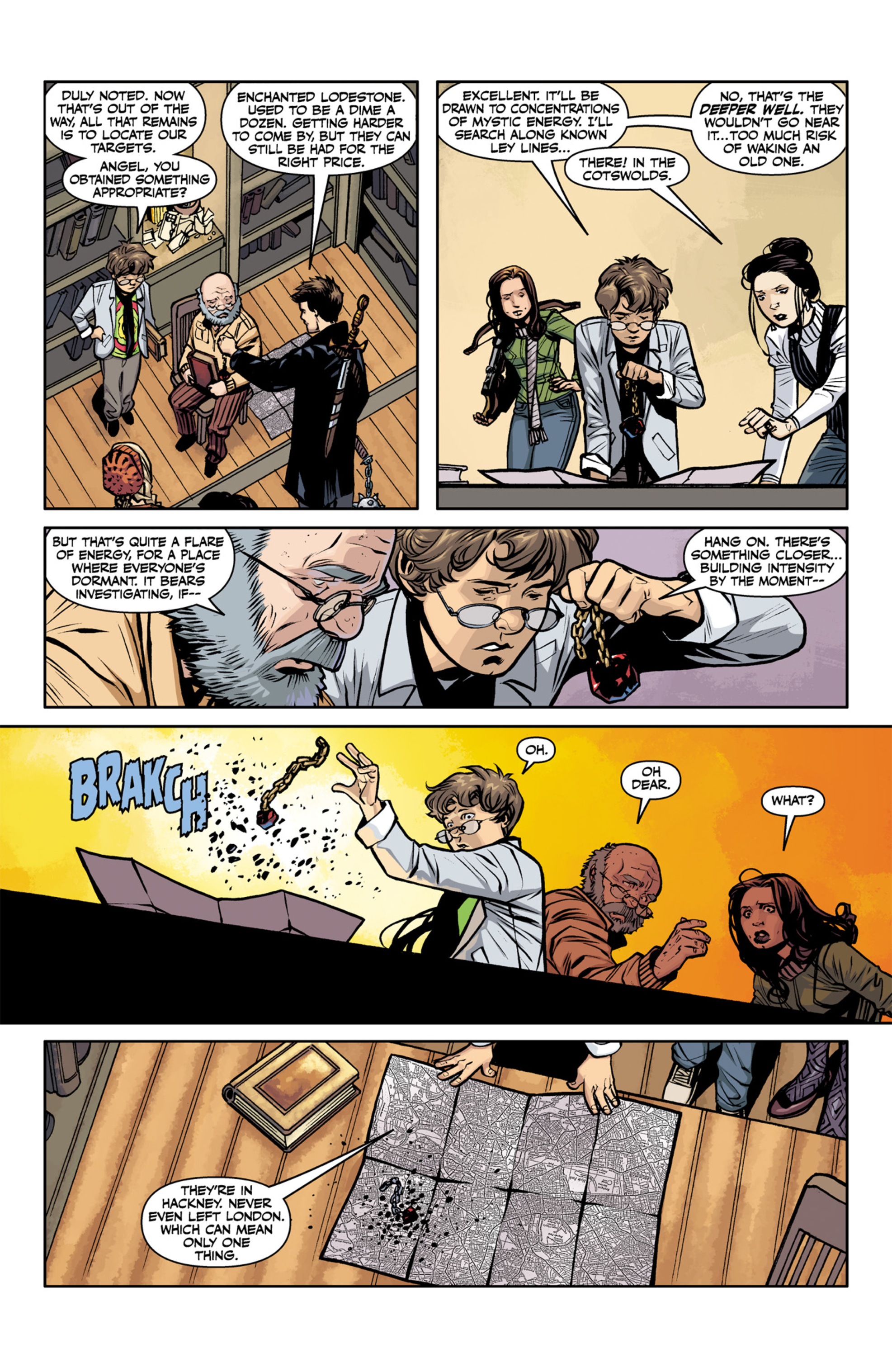 Read online Angel and Faith comic -  Issue #22 - 22