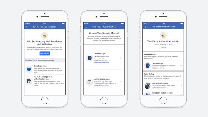 Facebook: Aktifkan Two-Factor Authentication Tanpa Nomor HP
