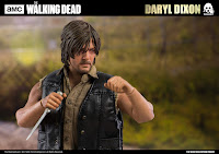 Daryl Dixon 1/6 de The Walking Dead - ThreeZero