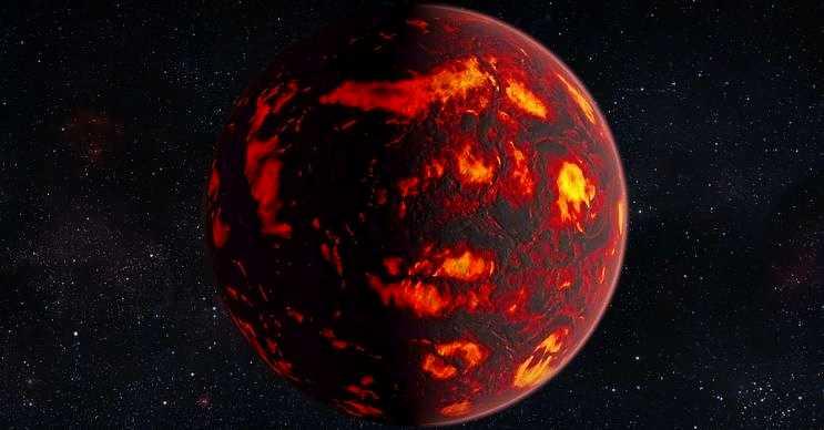COROT-7b çok ama çok sıcaktır, sıcaklıklığı 2200 derecenin üzerine kadar çıkmaktadır.