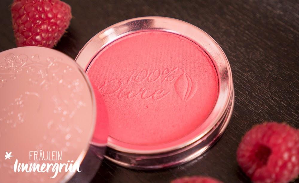 100% Pure Blush Rouge Plum