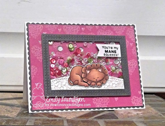 You're my mane squeeze by Emily features Wild About Zoo by Newton's Nook Designs; #newtonsnook
