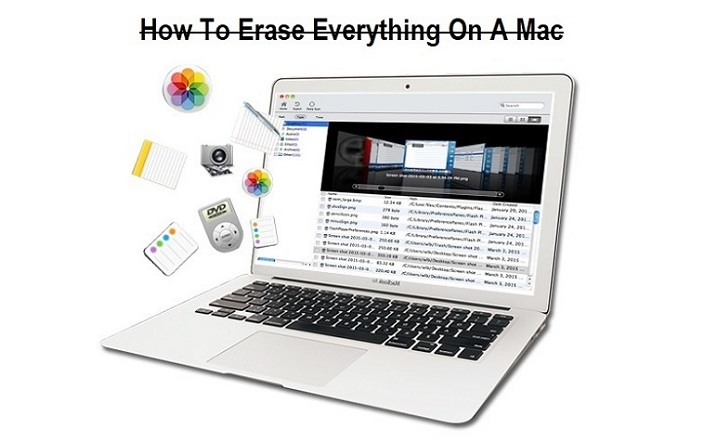 How To Erase Everything On A Mac