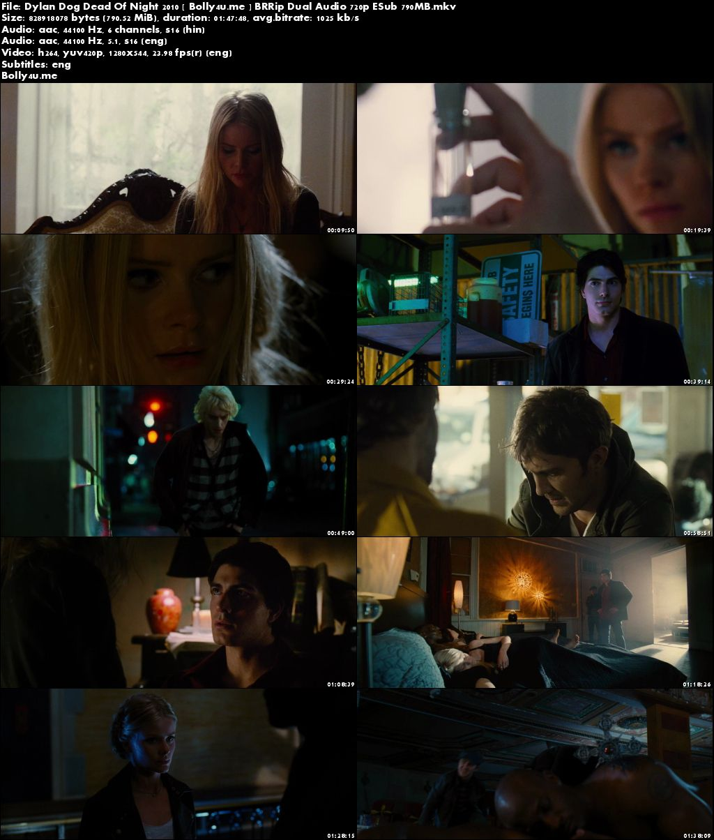 Dylan Dog Dead Of Night 2010 BRRip 350MB Hindi Dual Audio 480p ESub ESub Download