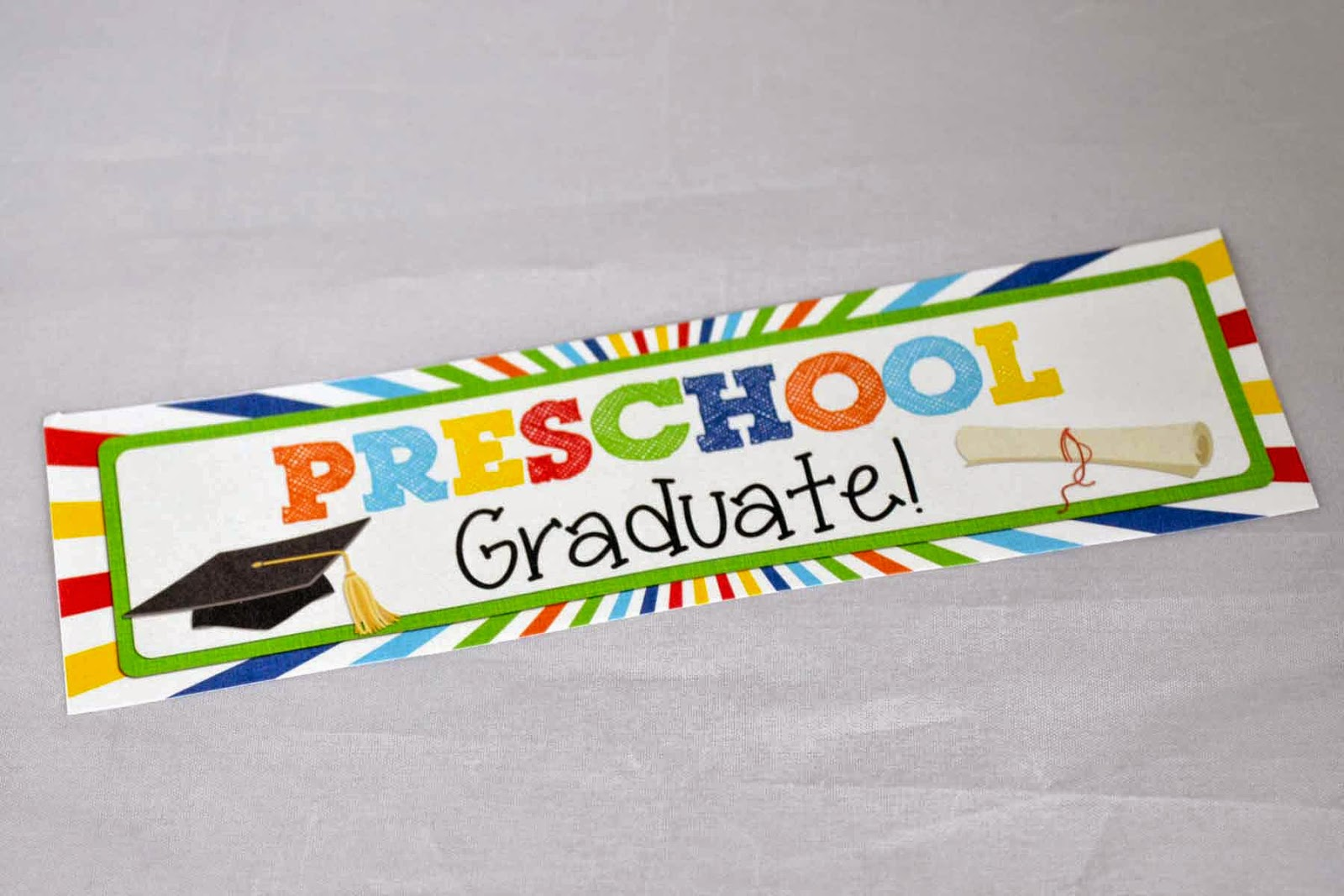 A Manda Creation Preschool Graduation Party Printables