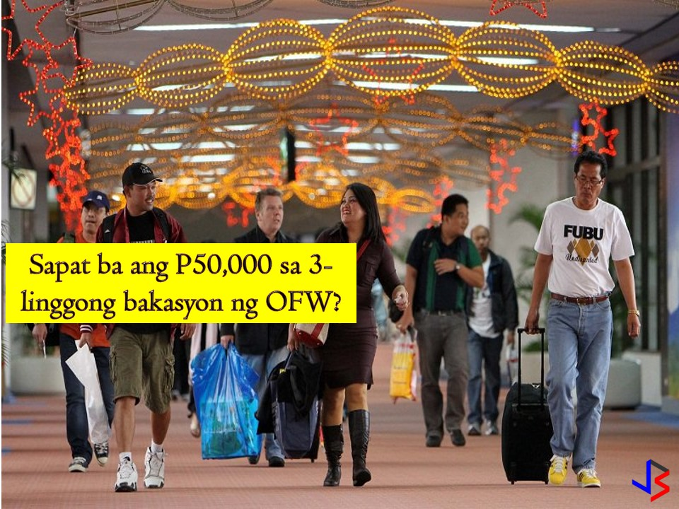 "After a year or two of working abroad, a well-deserved vacation is the most awaited part of every Overseas Filipino Workers (OFWs). Not just for OFWs but also their families are looking forward to these days to come. For many OFWs, if not all, vacationing in the Philippines is like a feast — non-stop eating, drinking, shopping, and catching up with family and friends.   But for some, going back in the country is also worrying about relatives and neighbors asking for money and ""pasalubongs"" from abroad especially if you don't have enough fund to spend on vacation. But how much money OFW should have when vacationing in the Philippines for three weeks or a month? Is P50,000 enough?  One OFW narrates on Reddit about his recent vacation in the Philippines and talks about his frustrating experience when he visited his relatives in the country. The Reddit user came under the name of ""crazy4dcoffee"" who lives in the USA. Recently, he paid a three-week vacation to the Philippines with his grandmother and was given a $1,000 allowance by his parents to spend during his stay in the country. He thought that the pocket money is a bit too much but when he meets his relatives, he found out that he was wrong.  ""[For two weeks], I stayed with my mom's sister and her family. Now let me tell you this – the block that my aunt lives on – their cousins, and other second and third cousins live there. Some of them I have no idea who they are but my luggage was packed with gifts for these people and also cash,""   He said that he immediately lost P11,000 from his pocket money because of the cash he gave his Filipino relatives.  ""Now I had P39,000 left. I still had 17 days left. I thought it would last me but no it did not,"" he said.  He even got mad when some of his relatives asked him to pay for their electricity bills and tuition fees. Not only this because some of his relatives would put him in a  difficult situation by asking money from him in front of everyone else so that he won't be able to refuse. Some are also stealing instead of asking money and other items from him.   ""I'm not trying to make it look like all Filipino relatives are like this, but why do you think just because I'm from abroad, I am mayaman or rich like why can't I just be me? Of course, I have money. I'm on a foreign land on vacation. But it does not make me a walking bank account,"" he said. ""Also hate when they guilt trip you for not giving money and tell sob stories so you feel bad and give in,"" he added.  The Reddit user even recalled times that his relatives invited him to eat outside, but asked him to pay for their meal for 12 people. He also talked about ungrateful relatives who cannot be happy with his pasalubong because of the shoes she wants is not there.   ""Also, my mom's sister got a lot of clothes. She got two shorts, t-shirts, and even some chocolates, but got mad at me because the shoes she requested wasn't there. I had to explain to her that I had no more space in my luggage and that she got a lot already, it won't be fair. She said next time we go home she expects the shoes. My blood was boiling to the max,"" he said  ""I hate that I feel this way but why are some relatives such parasites,"" he said at the end of his post.  Indeed, for OFWs, it is stressful and frustrating to have relatives that treat you like an ATM just because you are working abroad. So for OFWs who are heading home, do not tolerate these traits and slowly educate your family members and relatives that working abroad is not an easy job. Also, learn to say ""No"" when someone asks for this and that. Remember you don't have to give in to everyone's demand.  Set your budget when vacationing home because no amount of money is enough if ""party here and party there"" is the situation on your vacation."