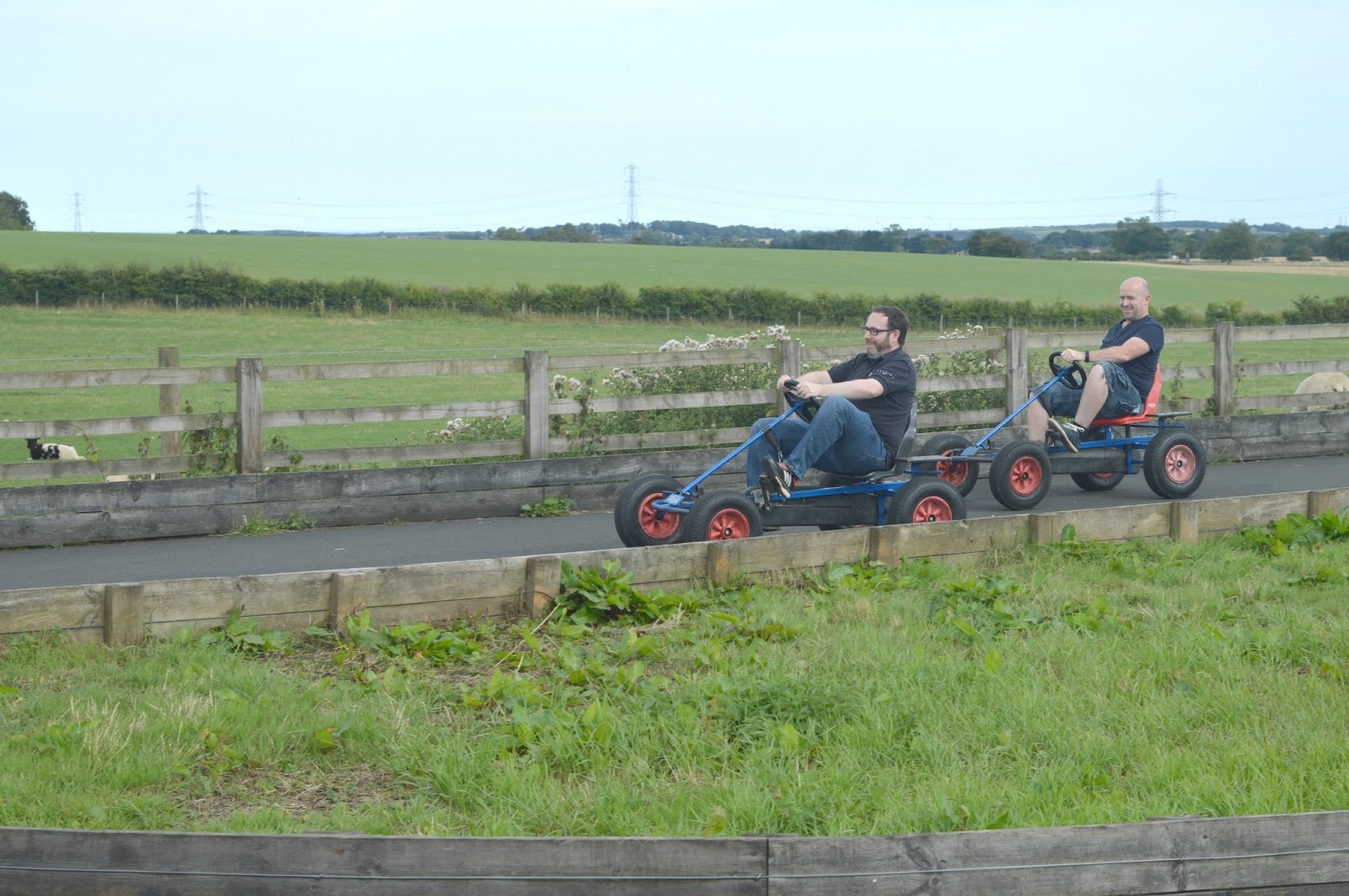 Whitehouse Farm, Northumberland - Go Karts