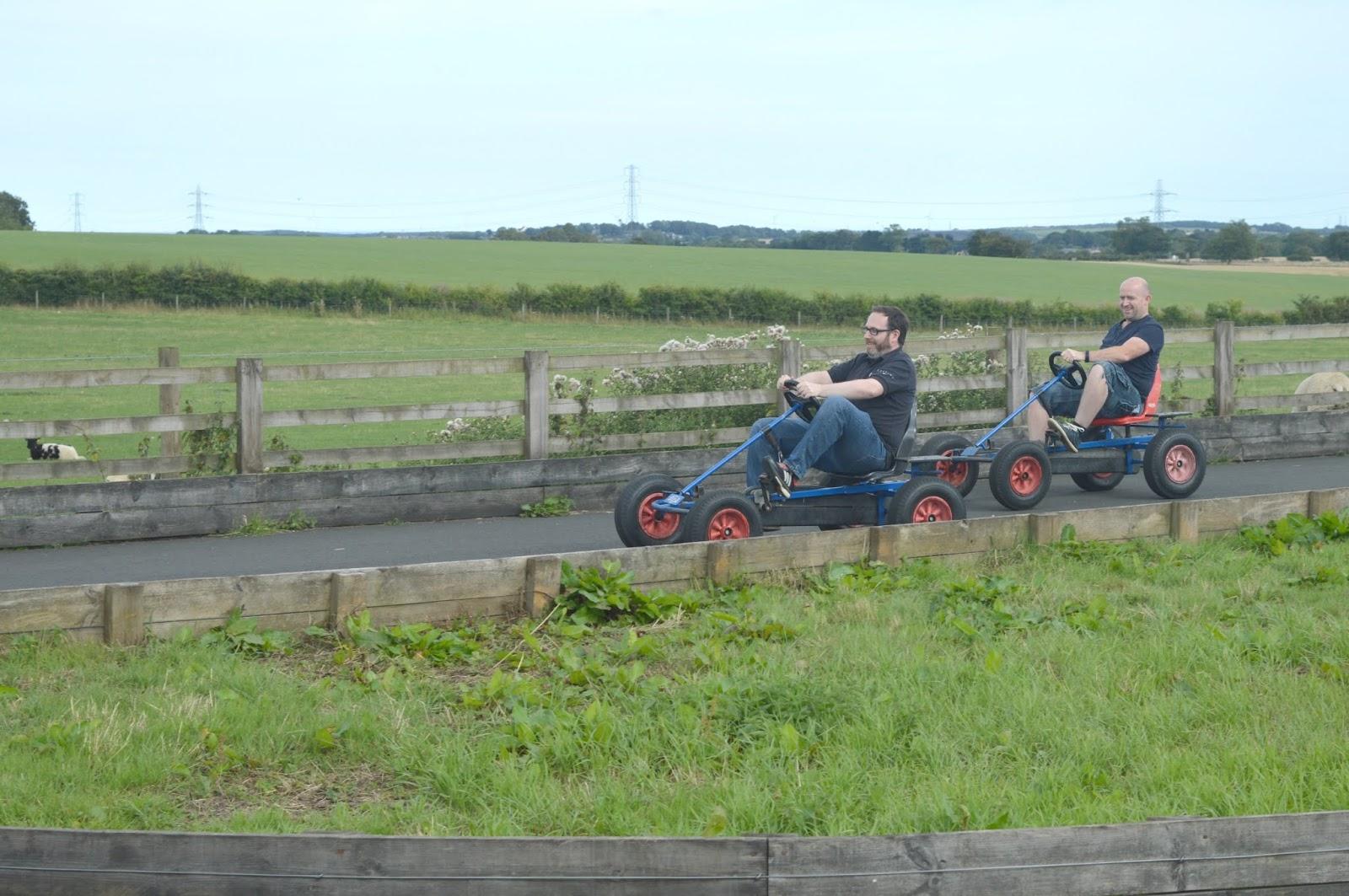 Whitehouse Farm, Northumberland - Go Karts