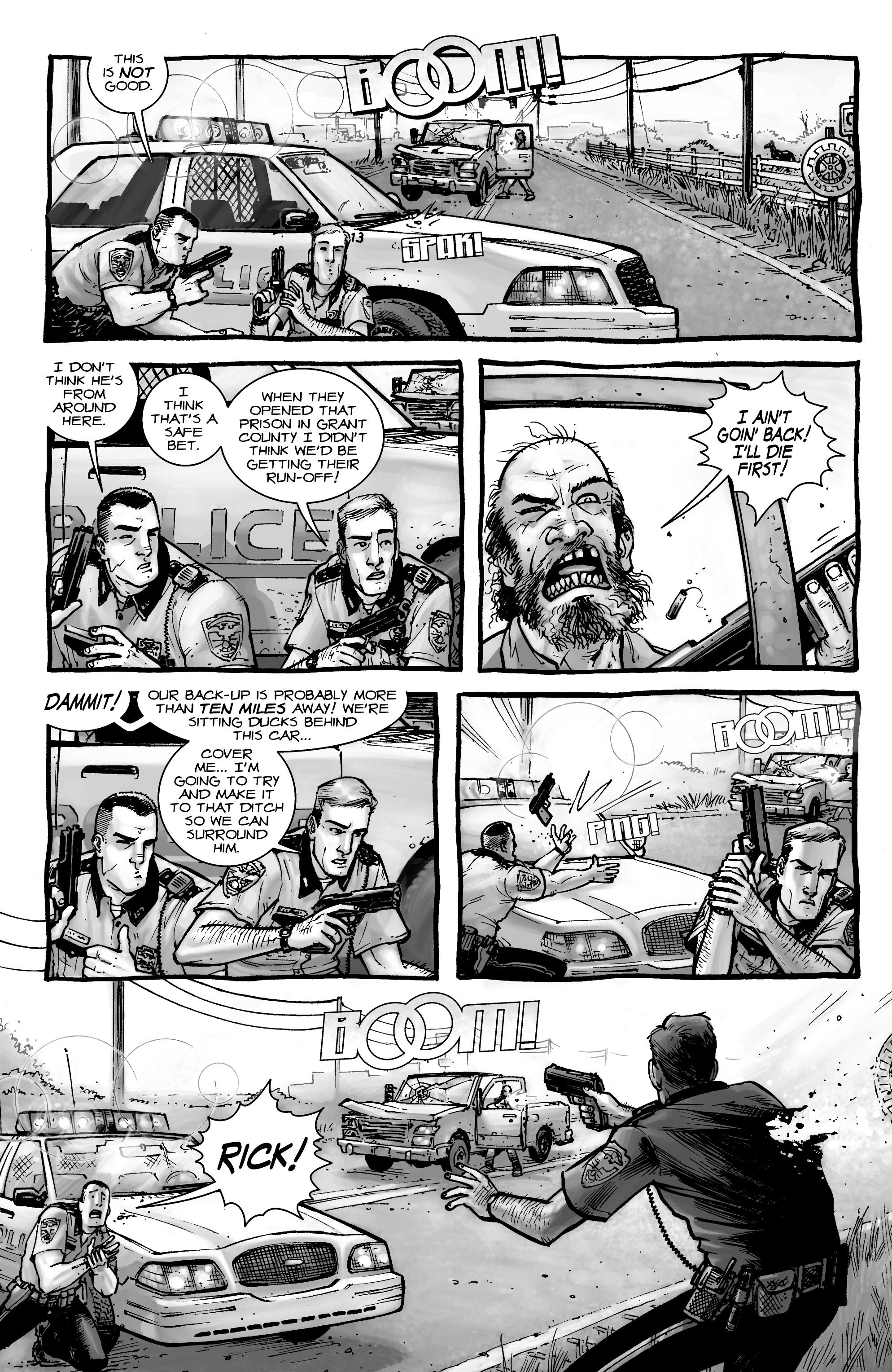 The Walking Dead issue 1 - Page 3