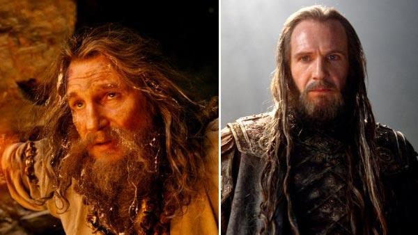 Liam Neeson on  Wrath of the Titans  godly bromance  OTRC Liam Neeson Wrath Of The Titans