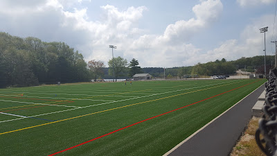 new artificial turf field at Beaver St