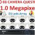 Bộ 8 Camera AHD Questek QTX-4161AHD 1.0 Mpx