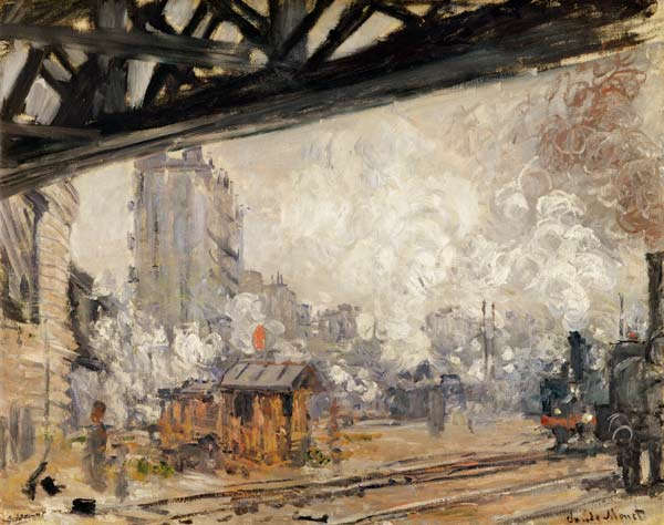 Monet et la Gare Saint Lazare 10%2BLa%2BGare%2BSaint-Lazare%252C%2Bvue%2Bexte%25CC%2581rieure%2BClaude%2BMonet%2B1877