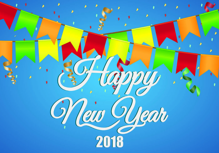 Happy New Year 2018 hd Free wallpaper Download