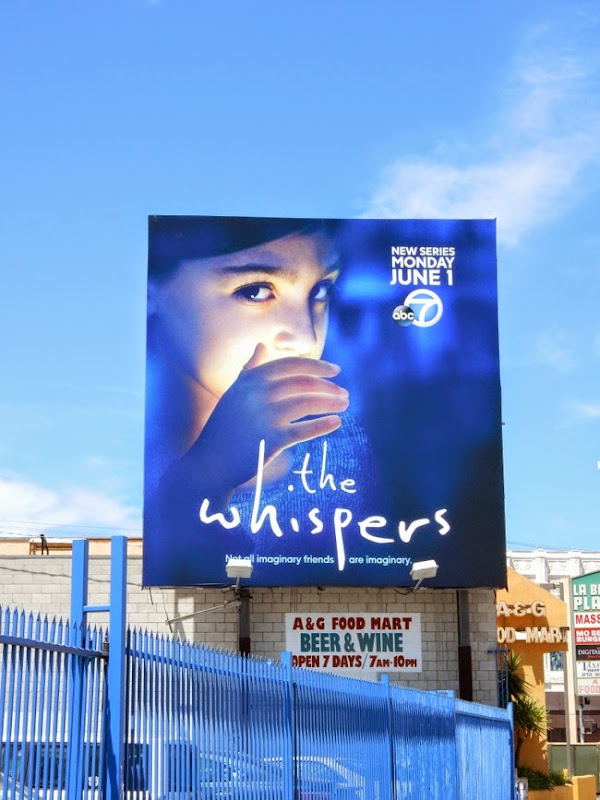 The Whispers season 1 billboard