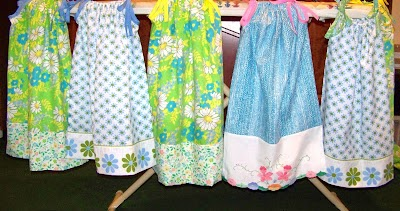 Shoeboxes Of Love Quick And Cute Pillowcase Dress
