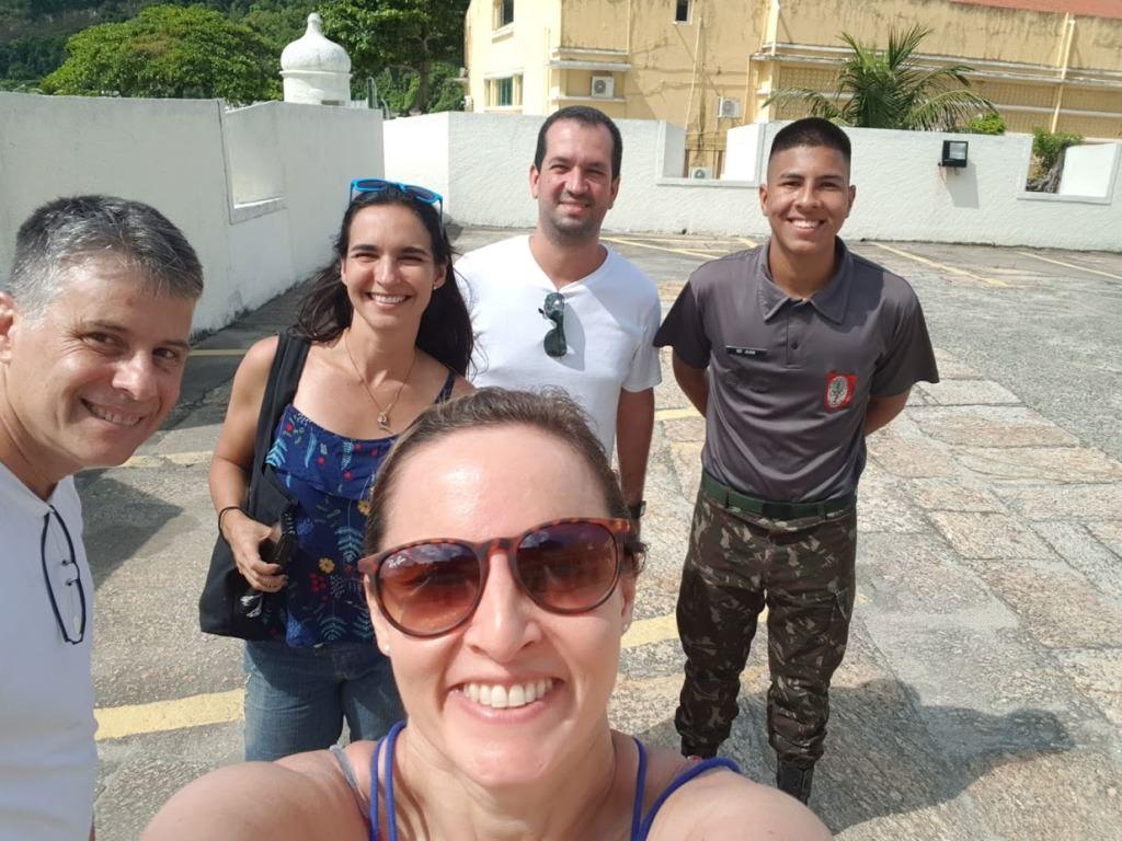 Passeio na Fortaleza de São João