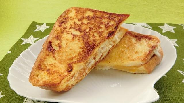 余った食パンで手軽に美味しい!黄金色のモンティクリストのレシピ