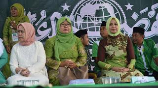 Bupati Faida Siap Beri Bantuan Modal Bagi 1000 Muslimat dan NU