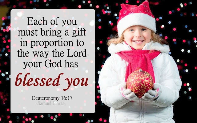 Christmas Blessing Gifts