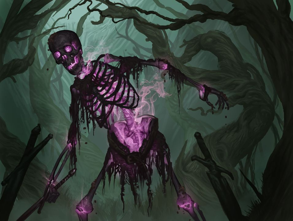 Devilmanotis Pathfinder: Black Skeleton