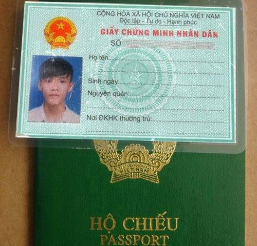 Share 10 Phôi CMND Chưa FIX Cho Anh Em