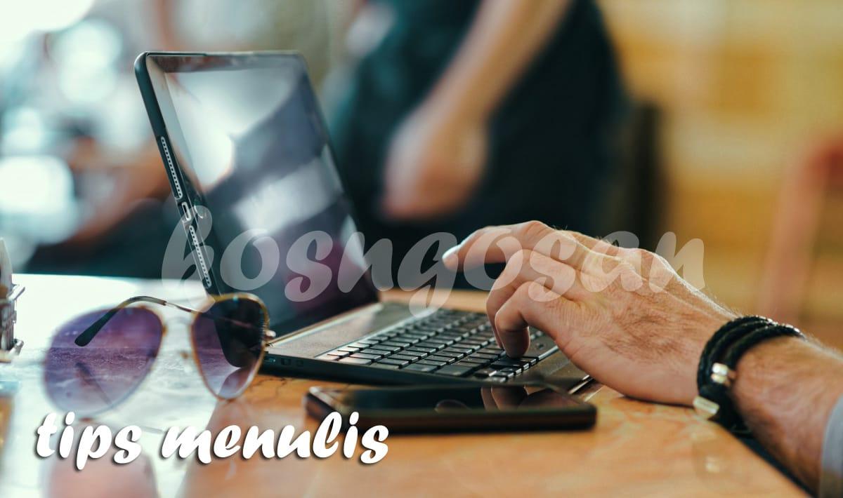 kesalahan menulis blog