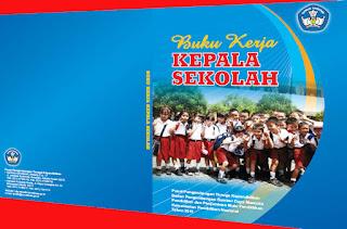 Buku Kerja Kepala Sekolah Profesional dilengkapi Visi & Misi
