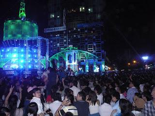 Nochevieja en Saigón (Vietnam)