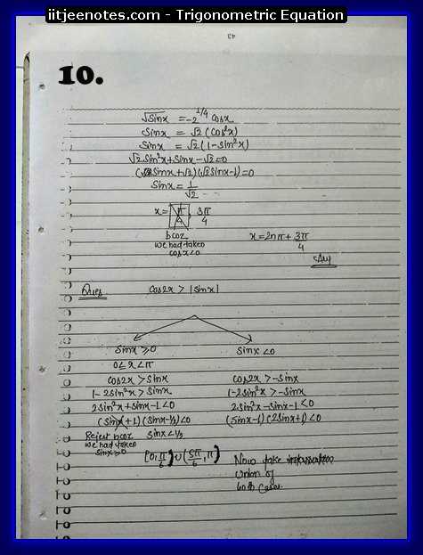 Trigonometric Equation images