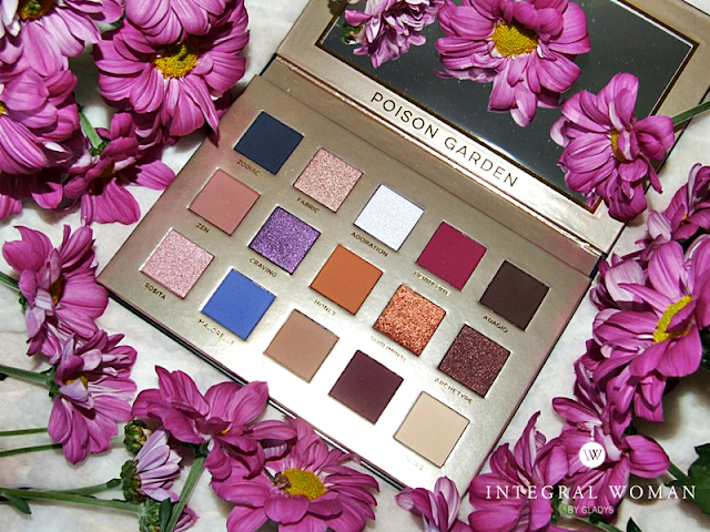 Poison Bargen Palette Nabla Cosmetics Integral Woman by Gladys_03
