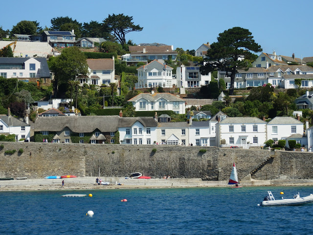 St.Mawes, Cornwall from the river