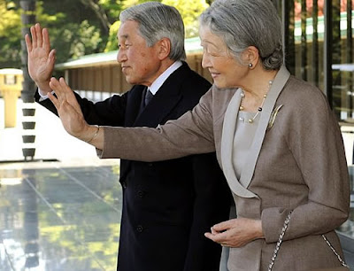 o parlamento japonês aprovou uma lei para a abdicação do Imperador Akihito