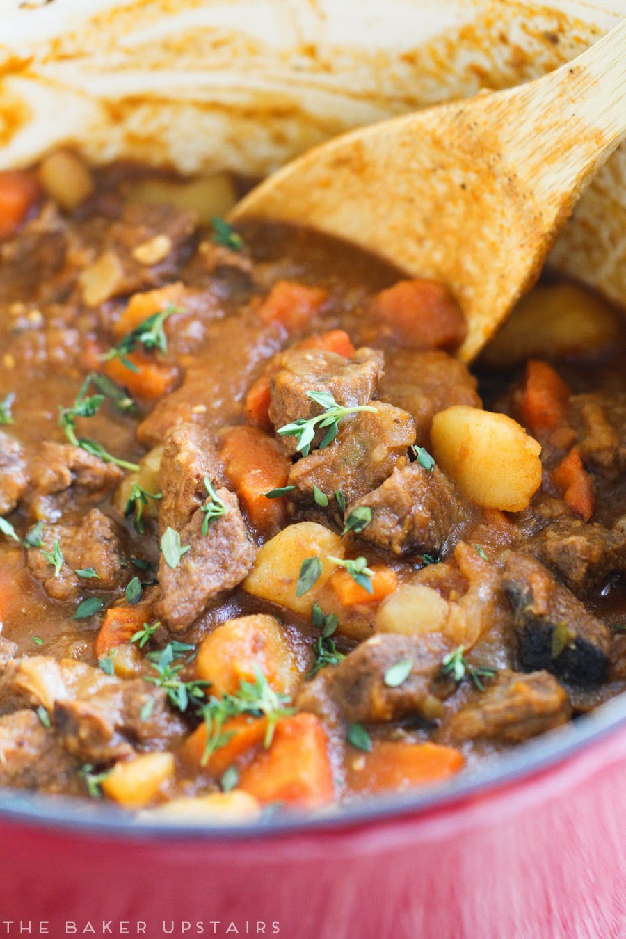 Guinness beef stew - so rich, savory, and delicious!