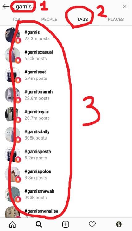 Pilih Hashtag Populer di Instagram