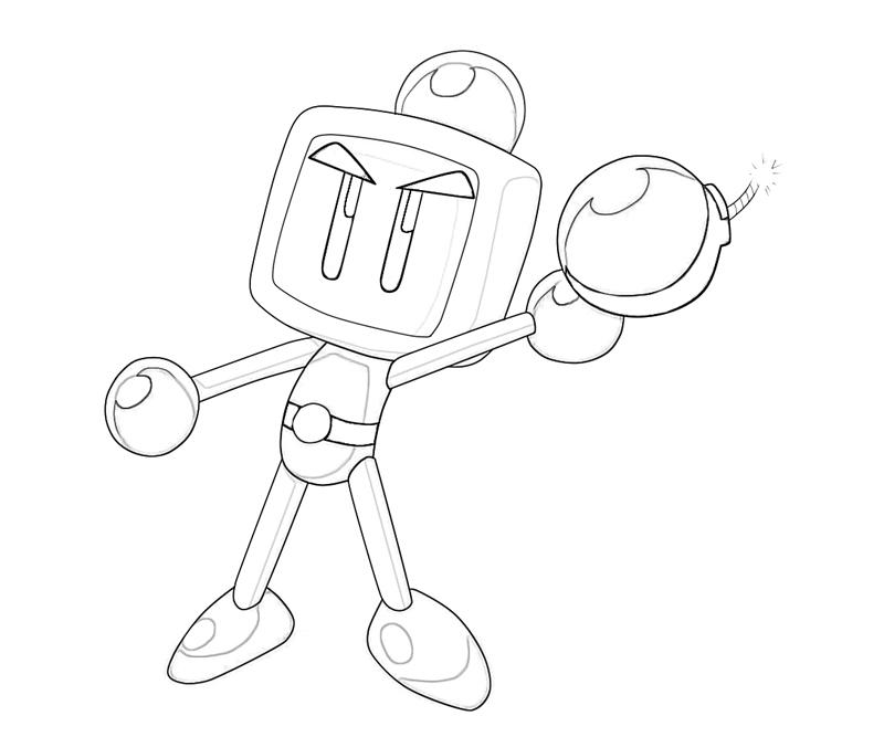 Bomberman coloring pages ~ Bomberman Bomberman Art | Mario