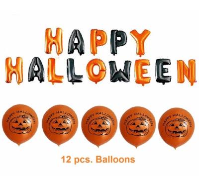 halloween balloons - halloween decorations