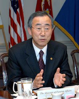 Ban Ki-moon, l'ancien secrétaire général de l'ONU